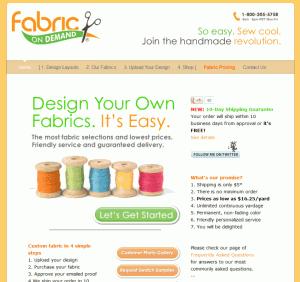 FabricOnDemand Screenshot